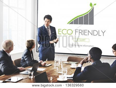 Eco Friendly Environmental Earth Lecture Concept