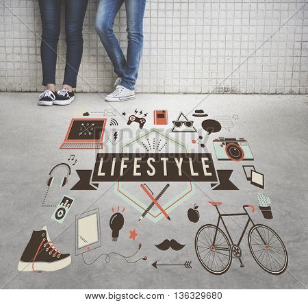 Lifestyle Leisure Lifestyle Hipster Concept