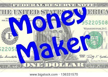Money Maker Business Concept