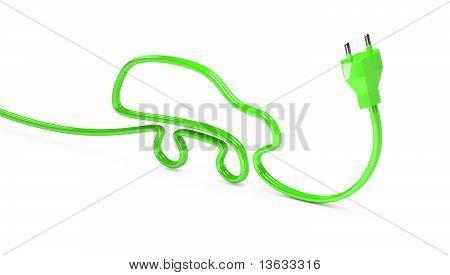 máquinas de contornos 3D de cable eléctrico