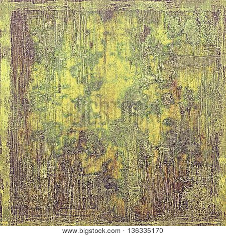 Veined grunge background or scratched texture with vintage feeling and different color patterns: yellow (beige); brown; gray; green; purple (violet)