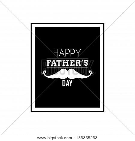 abstrac father day label on a white background