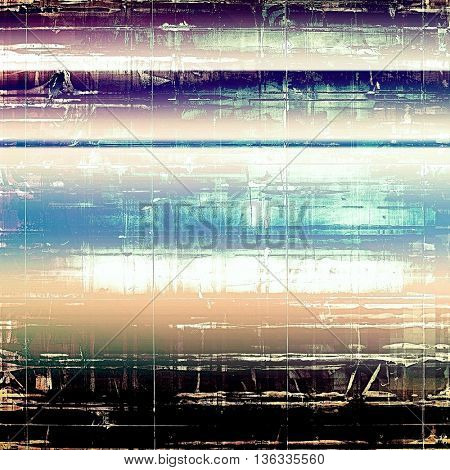 Creative vintage grunge texture or ragged old background for art projects. With different color patterns: yellow (beige); blue; purple (violet); black; cyan; white