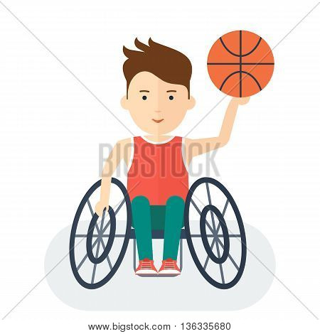 Handicapped Athlete Basketball