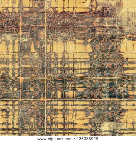 Art grunge background, vintage style textured frame. With different color patterns: yellow (beige); brown; gray; red (orange); black