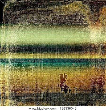 Art grungy texture, aged background with retro feeling. With different color patterns: yellow (beige); brown; blue; black; cyan