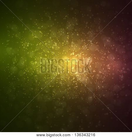Abstract space background. Night sky. Vector illustration