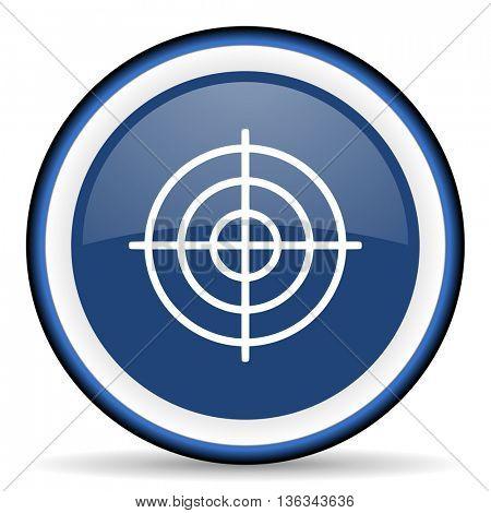 target round glossy icon, modern design web element