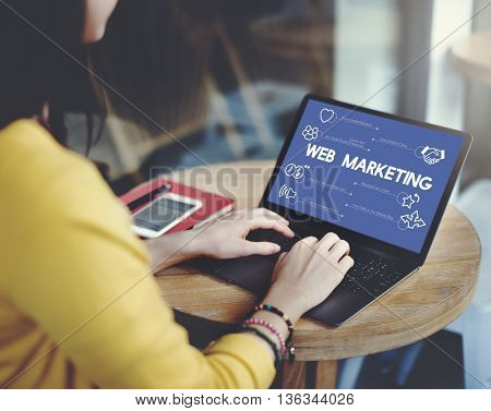 E-commerce Online Communication Multimedia Concept