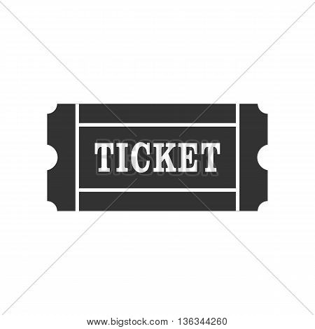 Icon of cinema Ticket. Ticket sign symbol