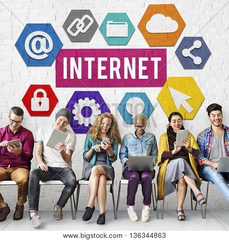 Internet Online Digital Technology Connection Concept