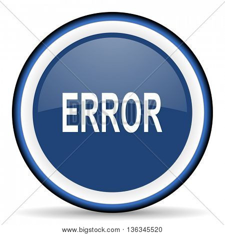 error round glossy icon, modern design web element
