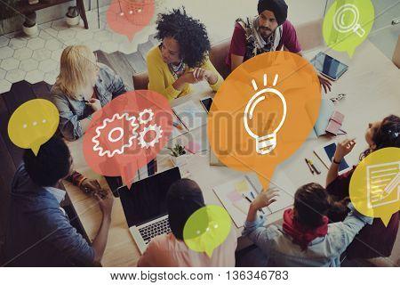 Ideas Lightbulb Innovation Learning Concept
