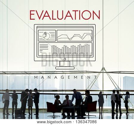 Business Evaluation Decision Estimate Strategy Concept