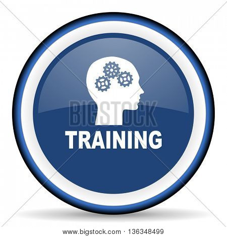training round glossy icon, modern design web element