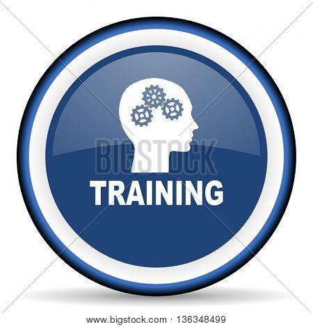 training round glossy icon, modern design web element