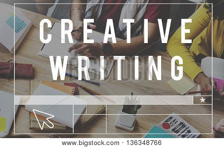 Creative Writing Ideas Design Inspiration Imagination Concept