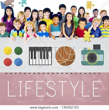 Lifestyle Culture Habits Hobbies Interests Life Concept