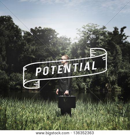 Potential Ability Capacity Development Motivation Concept