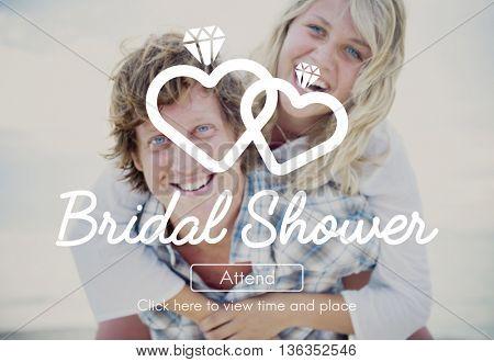 Bridal Shower Celebrate Friend Girls Party Rest Concept