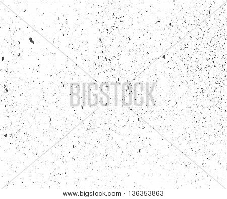 Abstract grunge background. Distress Overlay Texture. Dirty rough backdrop. Stained damaged effect. Vector illustration with spots and splatters