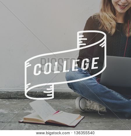 College Education Knowledge Wisdom Learning School Concept