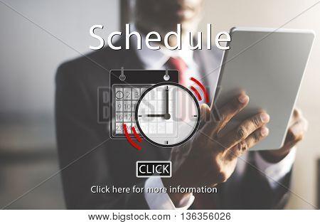 Schedule Appointment Organizer Plan Reminder Concept