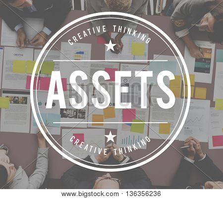 Assets Finance Investment Marketing Money Concept