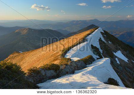 Carpathian Mountains Early Spring