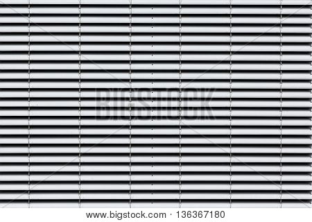 grey jalousie background - sunblinds / shutter
