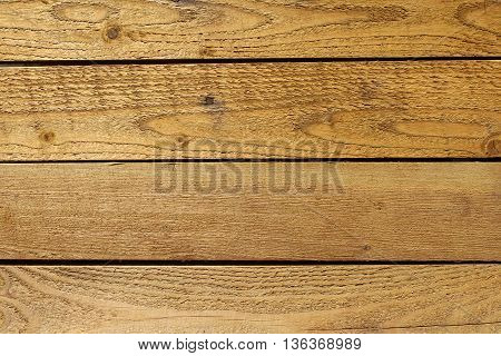Horizontal wooden boards on the all background