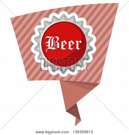 Beer Cap Colorful Icon