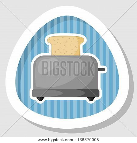 Bread Toaster Colorful Icon