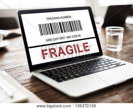 Fragile Breakable Care Caution Crack Concept