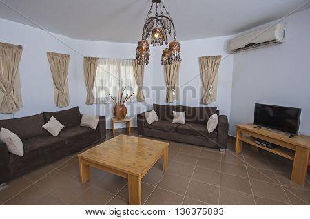 Interior Design Of An Apartment Living Room Show Home