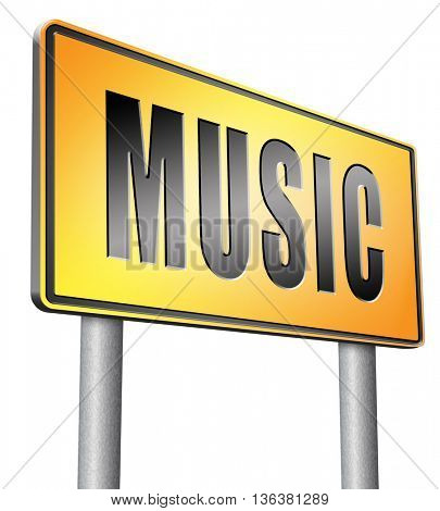 Music to play and to listen live stream or for download song