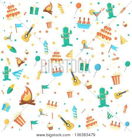 Party background vector illustration.  Celebration background vector illustration