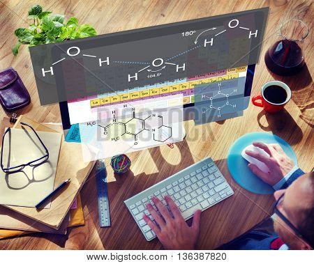 Formula Experiment Atom Chemistry Concept