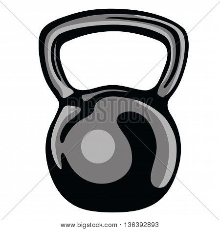 Kettlebell Gym Fit Clipart   Art Illustration