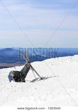 Skiers Defeat