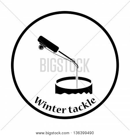 Icon Of Fishing Winter Tackle
