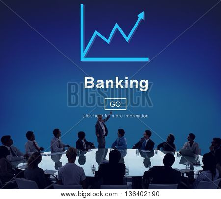 Business Banking Finance Conference Concept