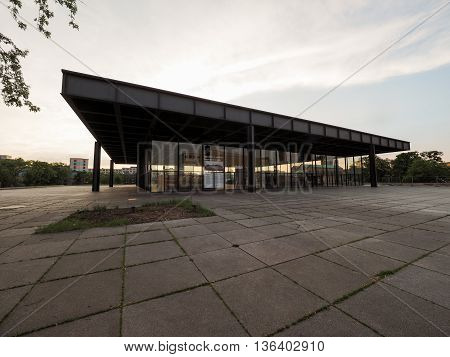 Neue Nationalgalerie In Berlin