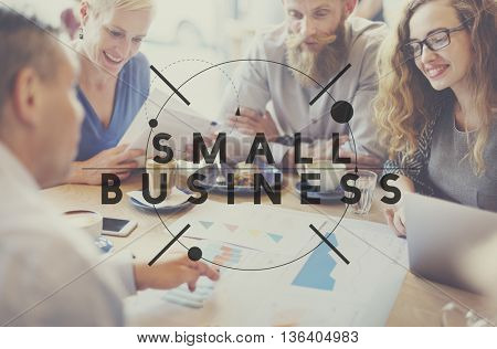 Small Business Niche Ownership Start-up Ideas Concept