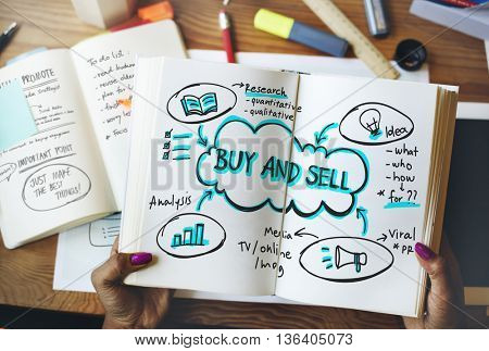 Advertisement Marketing Promotion Commerce Business Concept
