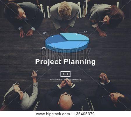 Planning Plan Design Process Research Concept