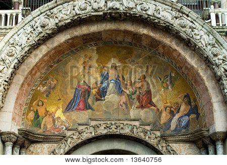 Colourful Mosaic, St Mark's Basilica, Venice, Italy