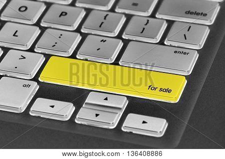 Keyboard  Button Written Word For Sale