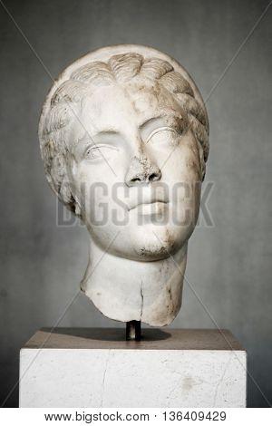 Portrait Of Fulvia Plautilla, Wife Of The Emperor Caracalla