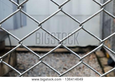 wire mesh fencesoft focus, wire mesh, protect by wire mesh